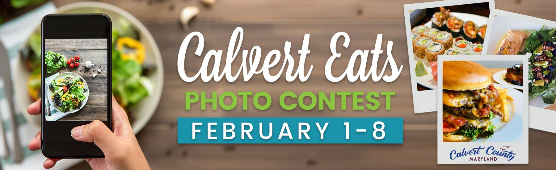 February Food Photo Contest Website Banner