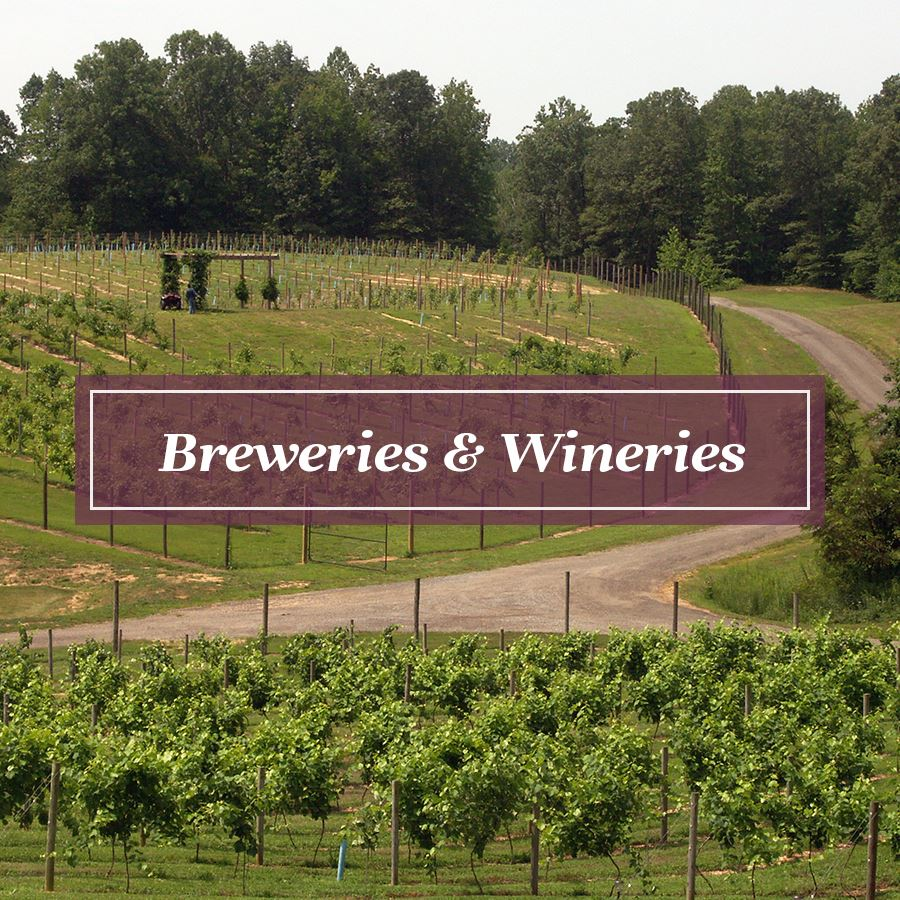 Breweries and Wineries