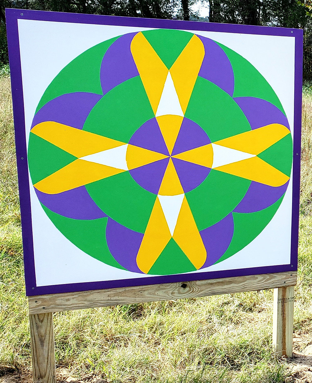 Barn Quilt Trail Square