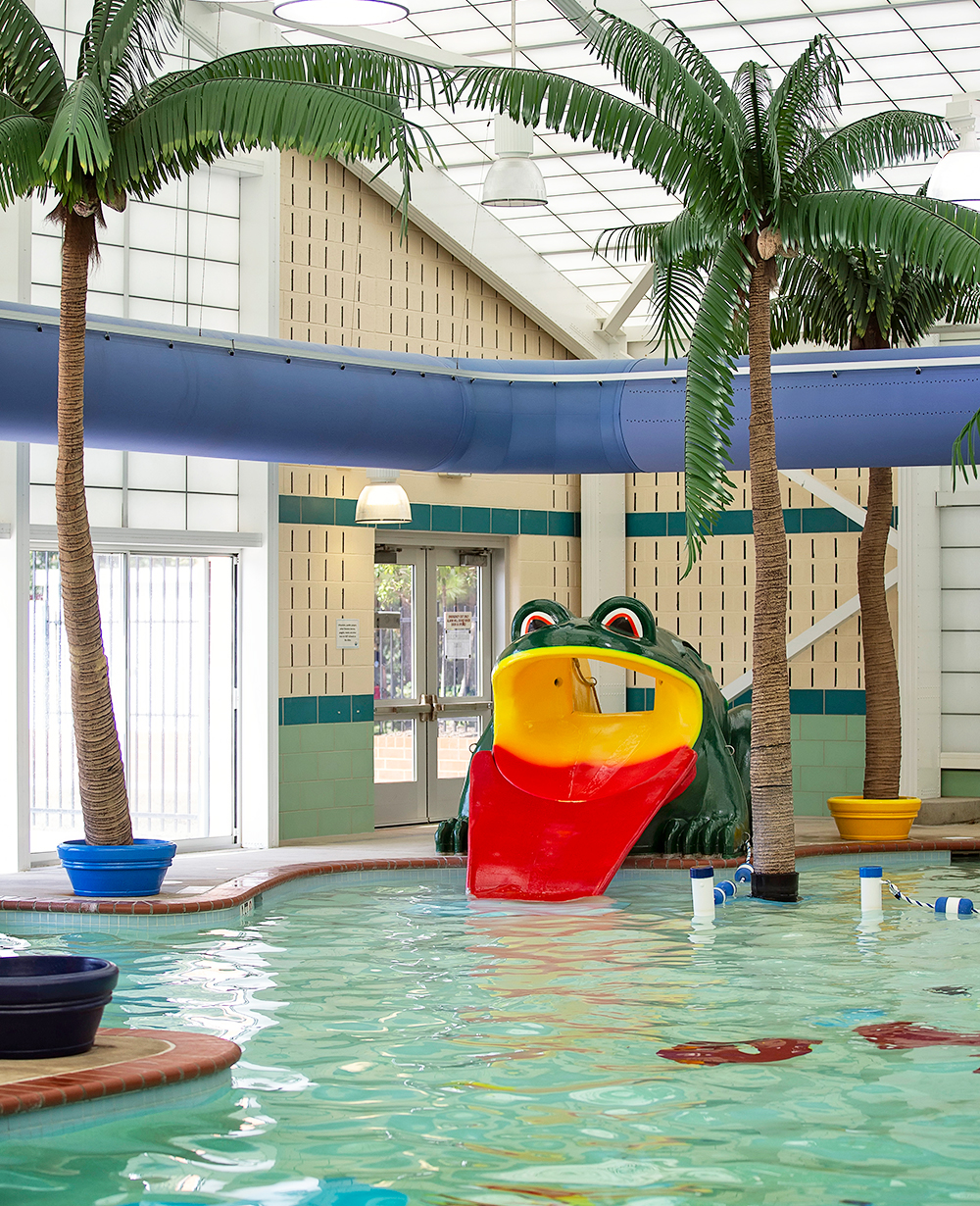 Hall Aquatic Center Kids Area