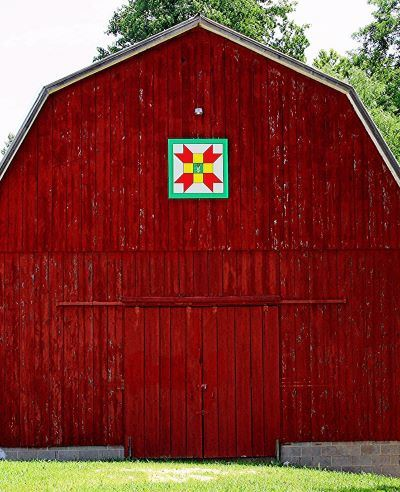 Farmers Daughter Barn Quilt Trail Square on Dan Bowen Road