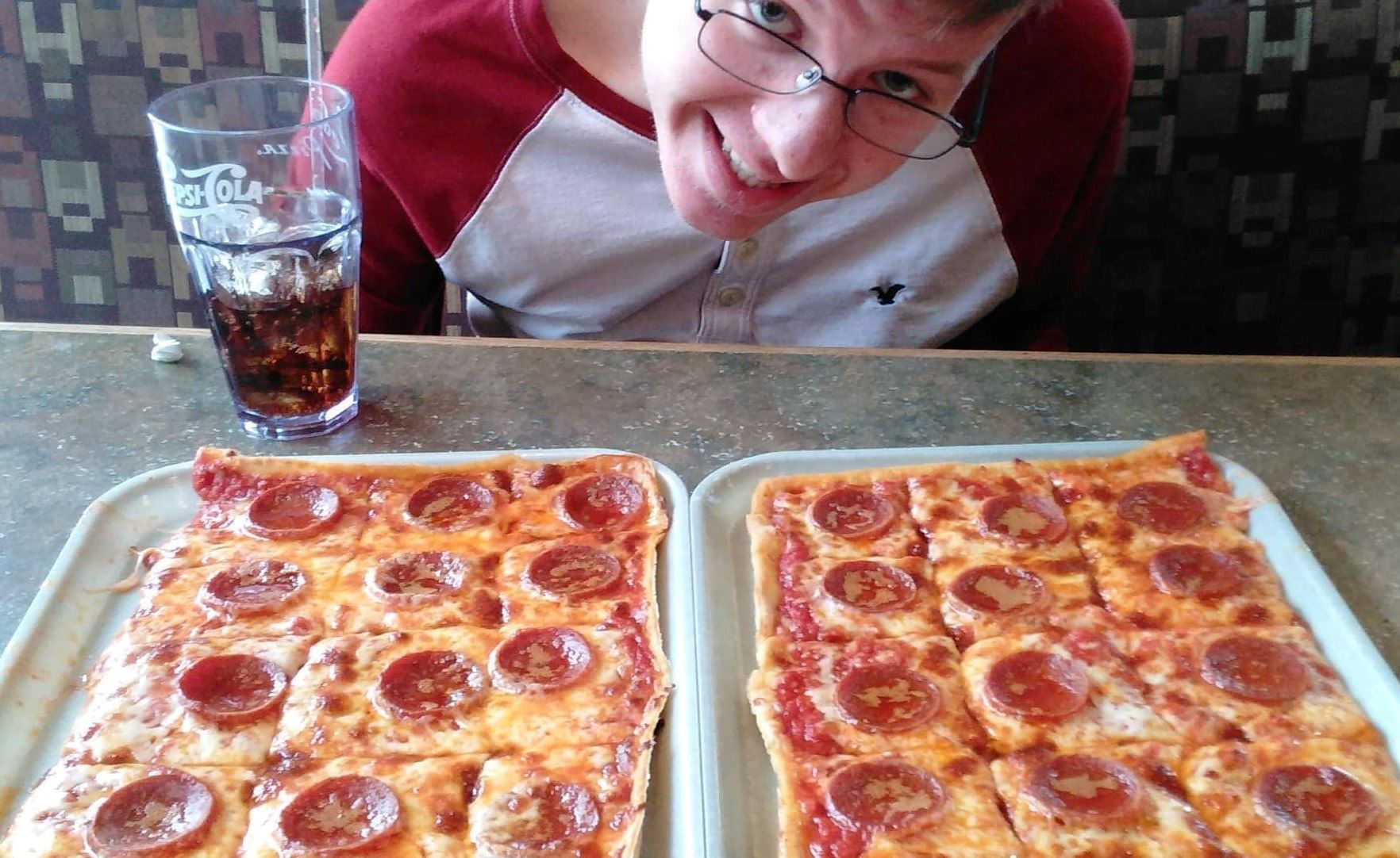 Pizza at Ledo Pizza - Lusby - Chris Pingelski Heiska
